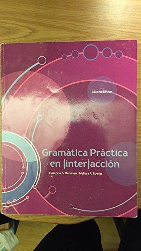 9781259198588: GRAMÁTICA PRÁCTICA EN (INTER)ACCIÓN, 2ND EDITION