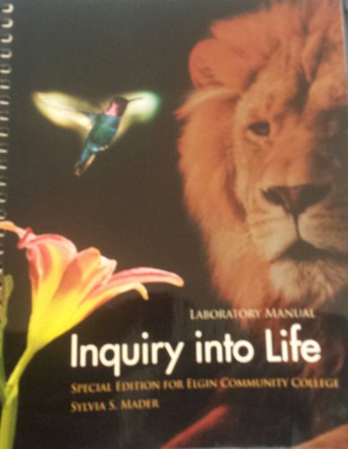 9781259200816 inquiry into life abebooks sylvia s mader rh abebooks com inquiry into life lab manual 15th edition answers inquiry into life 15th edition lab manual answer key