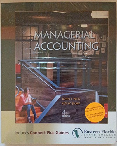 9781259201585: Managerial Accounting