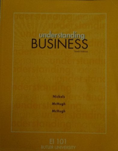 9781259202841: Understanding Business (EI 101), Butler University