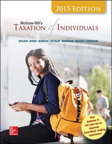 9781259206474: McGraw-Hill's Taxation of Individuals, 2015 Edition