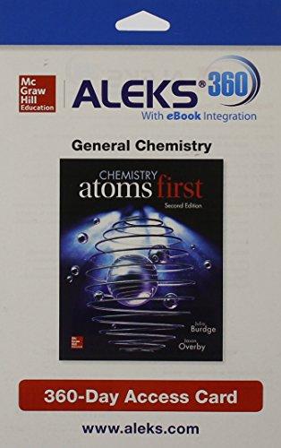ALEKS 360 Access Card (2 Semester) for: Burdge, Julia, Overby,