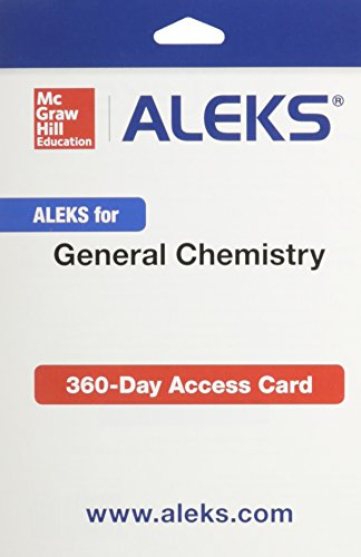 9781259207969: ALEKS for General Chemistry Access Card 2 semester
