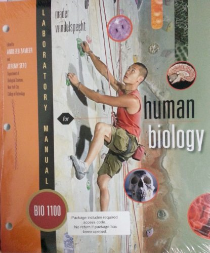 9781259215537: Laboratory Manual for Human Biology By New York City College of Technology