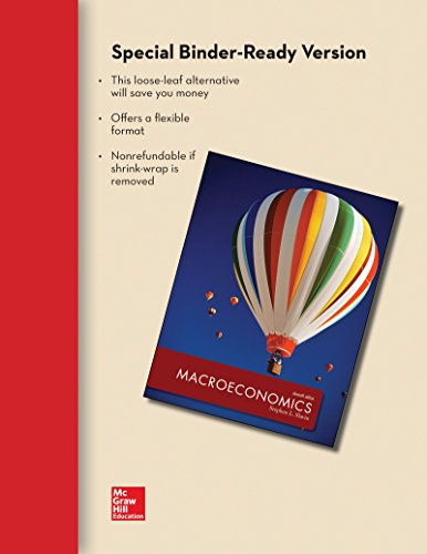 9781259216824: Loose-Leaf for Macroeconomics with Connect Access Card