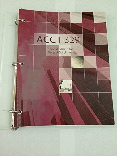 9781259217388: ACCT 329 Special Edition for Texas A&M University
