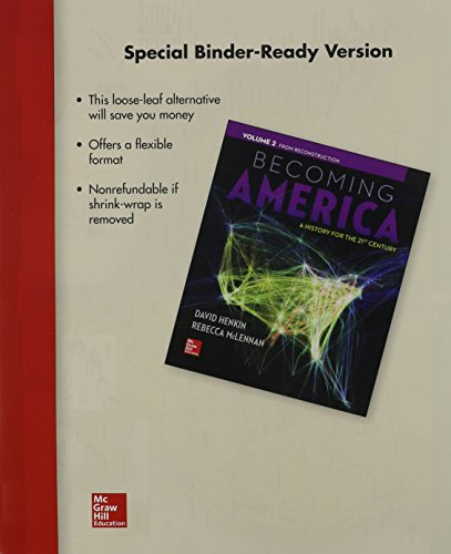 9781259217531: Looseleaf for Becoming America Volume II