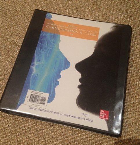 9781259218538: Introduction to Human Communication; Communication Matters; 2nd Edition