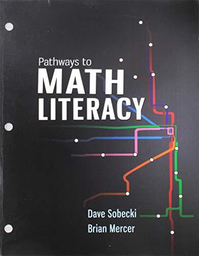 Pathways to Math Literacy: David Sobecki