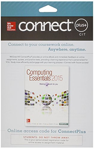 Connect Access Card for Computing Essentials 2015
