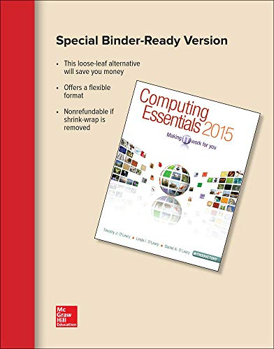 9781259223150: Computing Essentials 2015 Introductory Edition (O'leary)