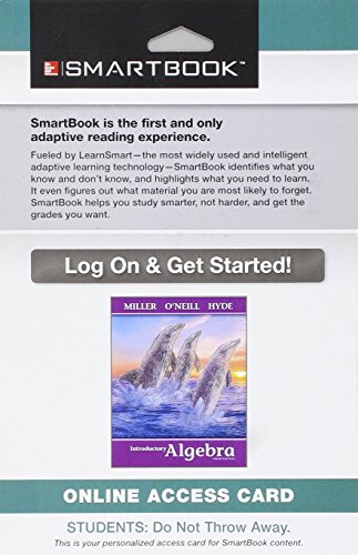 9781259223303: SmartBook Access Card for Introductory Algebra