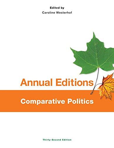 Annual Editions: Comparative Politics 14/15: Westerhof, Caroline