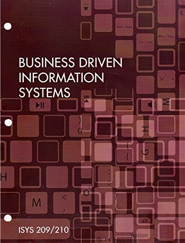 Buisness Driven Information Systems 4th Ed. (ISYS: Baltzan