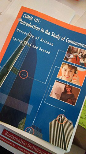 9781259230073: Introduction to the Study of Communication, University of Arizona