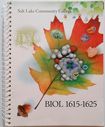 9781259231988: Salt Lake Community College Biol 1615-1625 LAB Manual