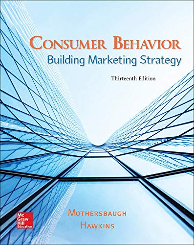 9781259232541: Consumer Behavior: Building Marketing Strategy