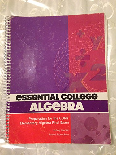 9781259234644: Essential College Algebra