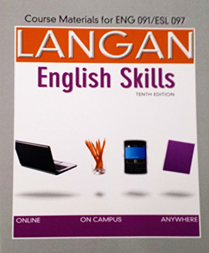 9781259235597: Course Material English Skills Eng091/ESL097(Glendale CC) Edition: 10th