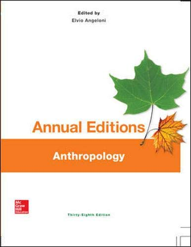 9781259242632: Annual Editions: Anthropology, 38/e