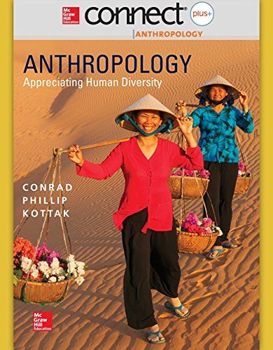 9781259244070: Connect Access Card for Anthropology: Appreciating Human Diversity 16e