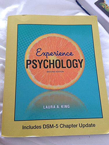 9781259246937: Experience Psychology w/ DSM-5 Chapter Update