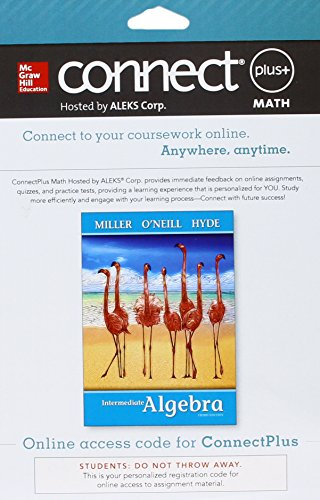 Connect Math hosted by ALEKS Access Card: Miller, Julie, O'Neill,