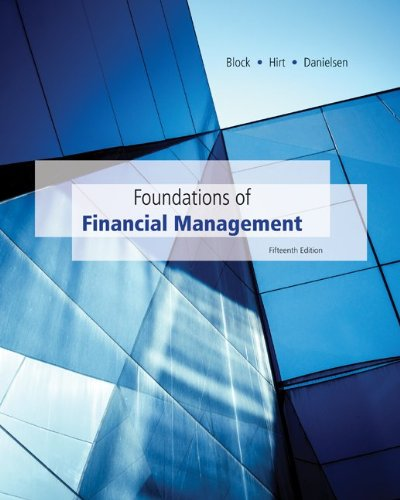 9781259249068: Loose-Leaf Foundations of Financial Management with Time Value of Money card with Connect Access Card