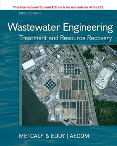 9781259250934: ISE WASTEWATER ENGINEERING: TREATMENT & RESOURCE RECOVERY