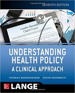 9781259251191: Understanding Health Policy, seventh edition (Appleton & Lange Med Ie Ovruns)