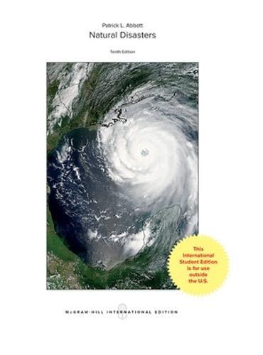 9781259251313: Natural Disasters