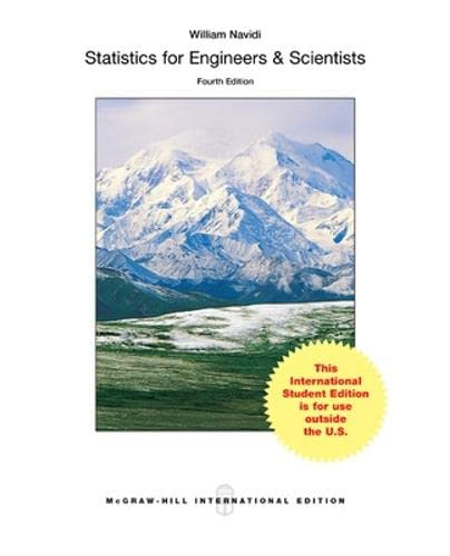 9781259251603: Statistics for Engineers and Scientists