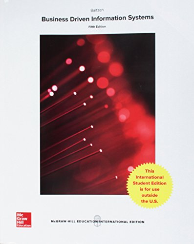 9781259251764: Business-Driven Information Systems