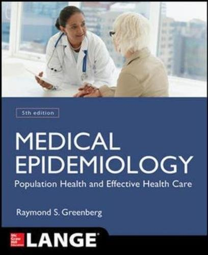 9781259251856: Medical Epidemiology: Population Health and Effective Health Care (Appleton & Lange Med Ie Ovruns)