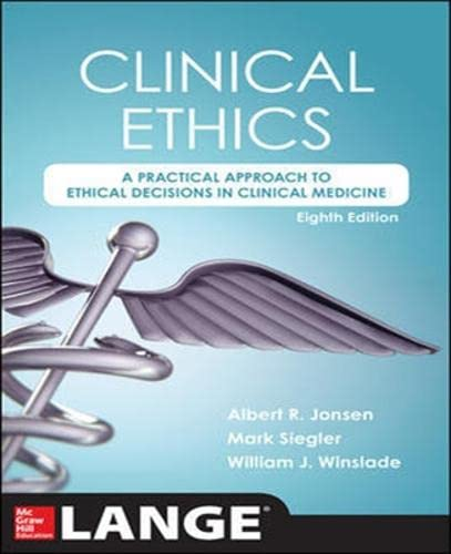 9781259251870: Clinical Ethics