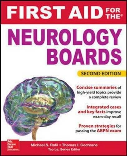 9781259251887: First Aid for the Neurology Boards, 2nd Edition