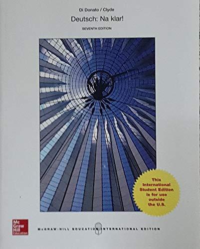 9781259252013: Deutsch: Na klar! An Introductory German Course (Student Edition)
