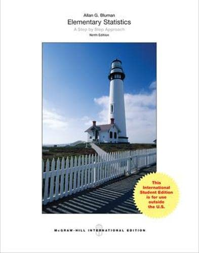 9781259252099: Elementary Statistics: A Step By Step Approach (Int'l Ed)