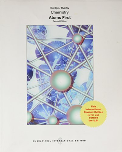 9781259252174: Chemistry: Atoms First (Int'l Ed)