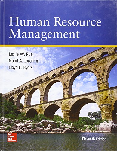 Human Resource Management: Byars, Lloyd L.; Rue, Leslie W.; Ibrahim, Nabil A.