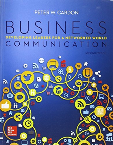 9781259252341: Business Communication: Developing Leaders for a Networked World
