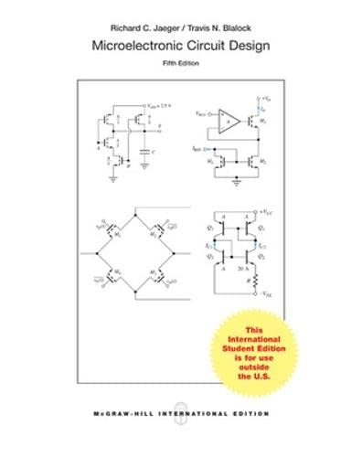 9781259252457: Microelectronic Circuit Design