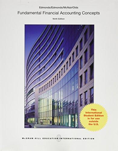 9781259252686: Fundamental Financial Accounting Concepts