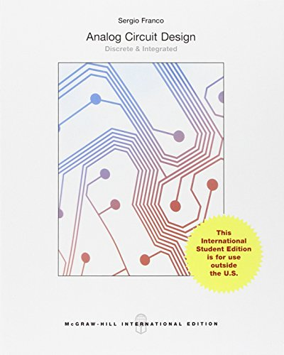 9781259252716: Analog Circuit Design: Discrete & Integrated (Int'l Ed)