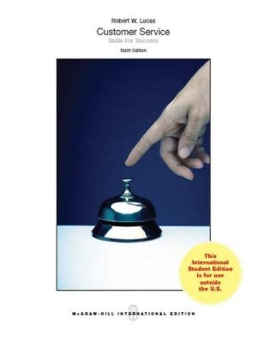9781259252945: Customer Service Skills for Success (Int'l Ed)
