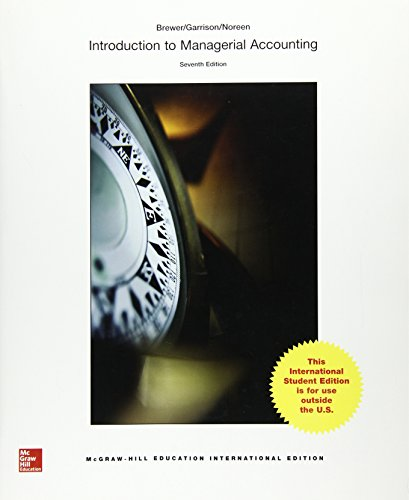 9781259253126: Introduction to Managerial Accounting