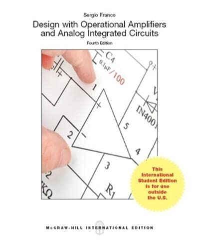 9781259253133: Design With Operational Amplifiers And Analog Integrated Circuits (Int'l Ed)