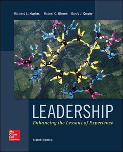 Leadership: Enhancing the Lessons of Experience: Richard L. Hughes