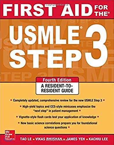 First Aid for the USMLE Step 3: McGraw Hill Higher