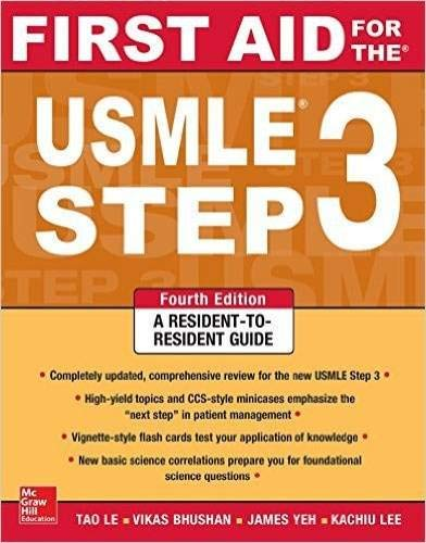 9781259253249: First Aid for the USMLE Step 3